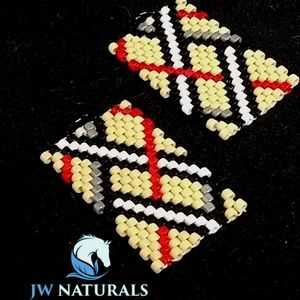 JRW Handmade Beaded Burberry Recognition Color…